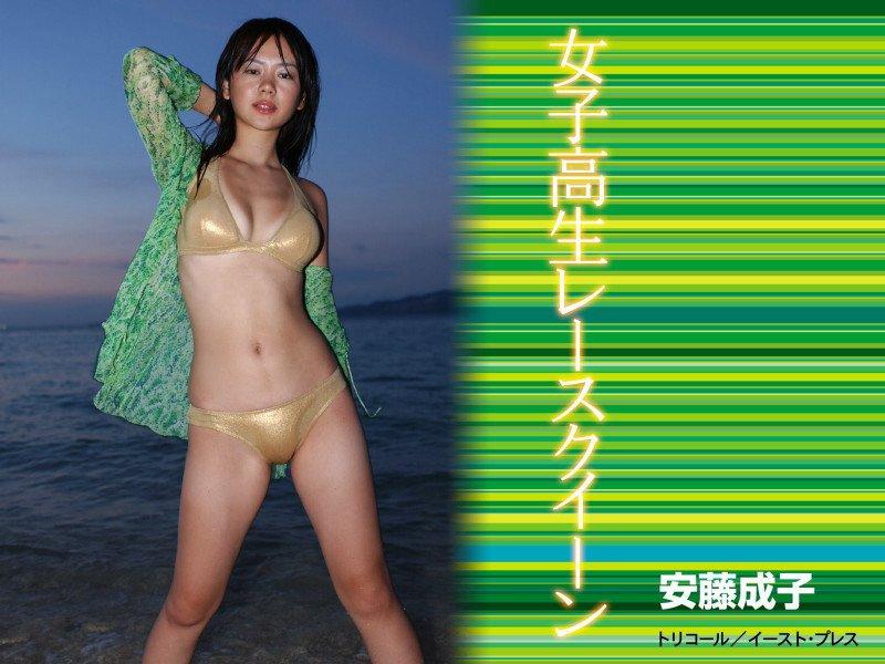 女子高生レースクイーン 安藤成子
