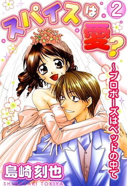 【恋愛 エロ漫画】スパイスは愛?〜プロポーズはベッドの中で