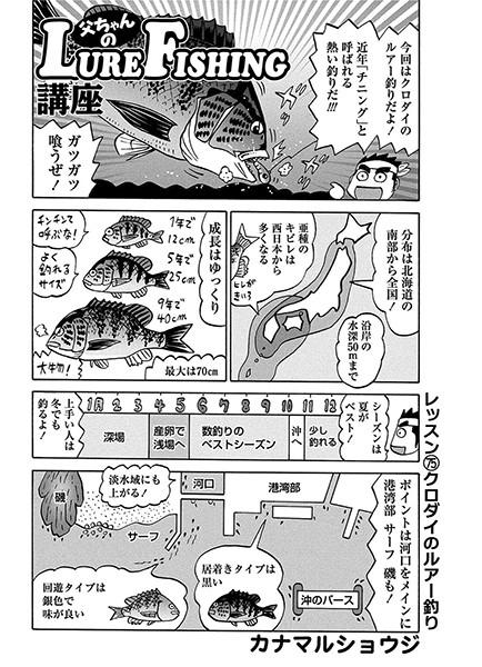 父ちゃんのLURE-FISHING講座(単話)