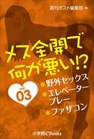 メス全開で何が悪い!? vol.3〜野外セックス、エレベータープレー、ファザコン〜