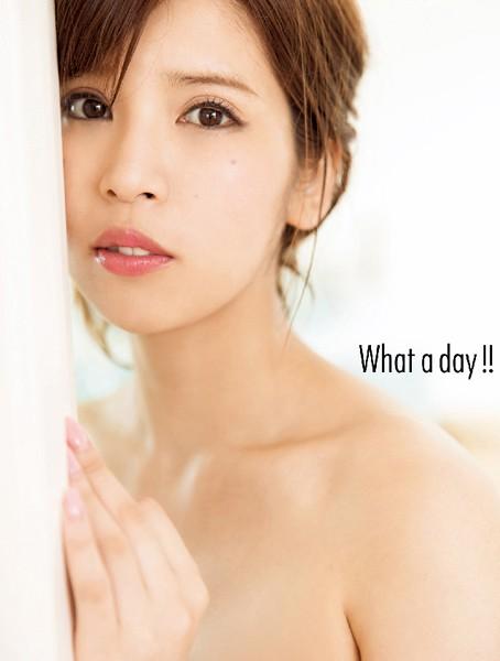 坂口杏里改めANRI写真集『What a day!!』