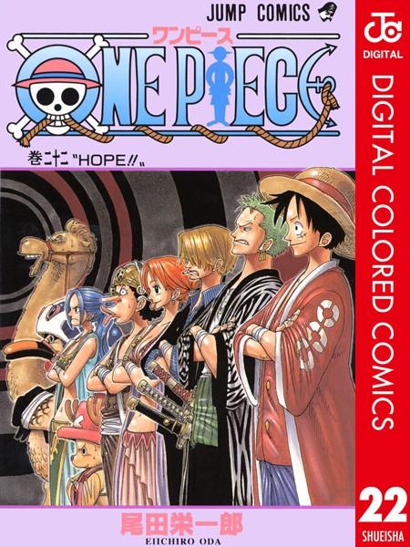 ONE PIECE カラー版 22