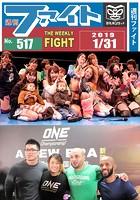 週刊ファイト '19年1月31日号 WWE新日AEW/Rランブル/ONE修斗/ブル中野/Color'...