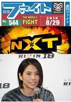週刊ファイト '19年8月29日号 RIZIN堀口敗退/新生KnockOut/AEW-NXT/浅草橋...