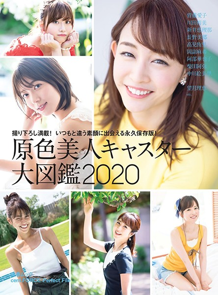 原色美人キャスター大図鑑 2020