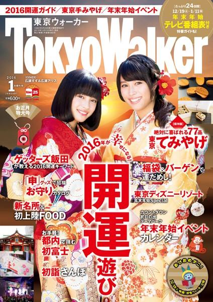 TokyoWalker東京ウォーカー 2016 1月増刊号