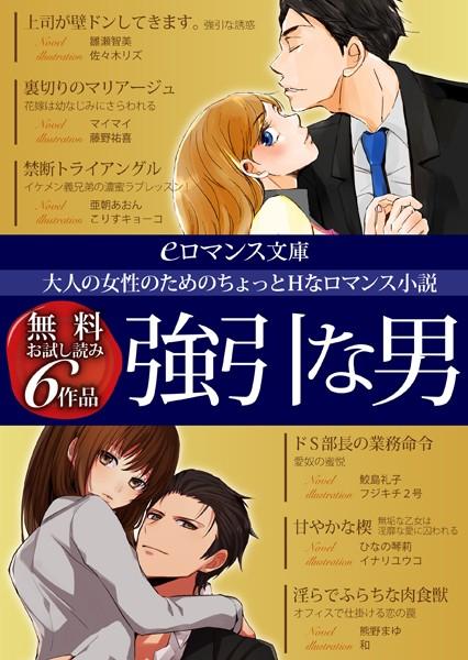 er-大人の女性のためのちょっとHなロマンス小説 強引な男 無料お試し読み6作品