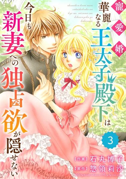 Berry's Fantasy 寵愛婚-華麗なる王太子殿下は今日も新妻への独占欲が隠せない(分冊版) 3話