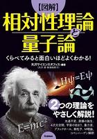 くらべてみると面白いほどよくわかる!【図解】相対性理論と量子論