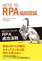 KEYS TO RPA SUCCESS 日立ソリューションズのRPA成功法則