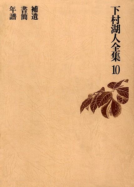 下村湖人全集 10 補遺 書簡 年譜