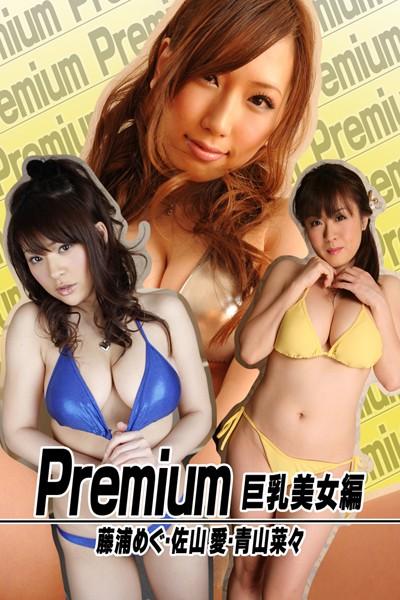 Premium 巨乳美女編 藤浦めぐ・佐山愛・青山菜々