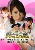 男の妄想 セクシーウエイトレス・キャバ嬢・OL編 河合ヒナ・美海・桜木凛