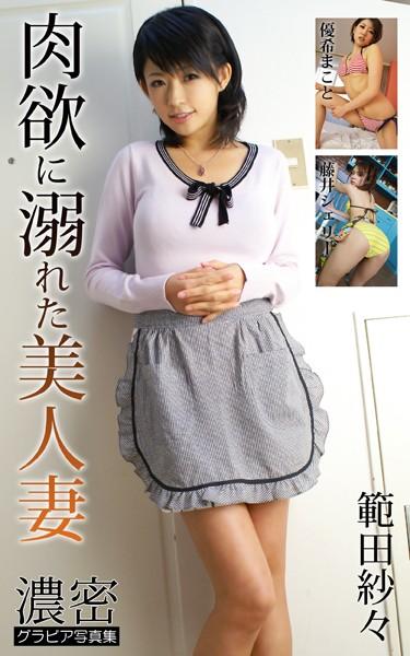 肉欲に溺れた美人妻 範田紗々・優希まこと・藤井シェリー 濃密グラビア写真集