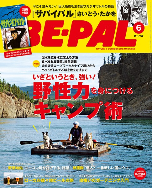 BE-PAL (ビーパル) 2016年 6月号