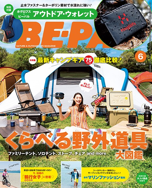 BE-PAL (ビーパル) 2018年 6月号